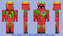 king krave the third Minecraft Skin