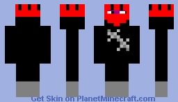 ninja armor with nobody in it so don't bother checking Minecraft Skin