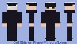 Satoru Gojo Minecraft Skin