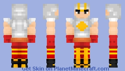 Air-Walker | Marvel Comics Minecraft Skin