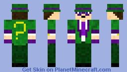 Riddler Minecraft Skin