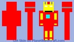 Iron Man Mark 11 Minecraft Skin