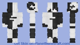 -white and black 2- Minecraft Skin