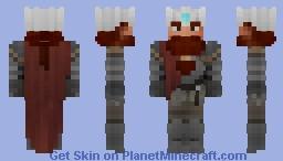 Tinfoil Hat Dwarf King [LOTC ~ DO NOT USE] Minecraft Skin