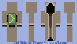 Robed soldier Minecraft Skin