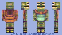 Cape Frog (Attack against Inro) Minecraft Skin