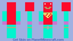 Fortnite tomato head Minecraft Skin