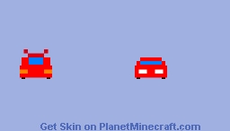 Sideswipe Transformers (car mode) Minecraft Skin