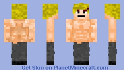 Strong Guy.... (Not Copied) Minecraft Skin