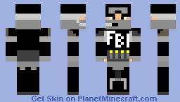 FBI OPEN UP!!!!! Minecraft Skin