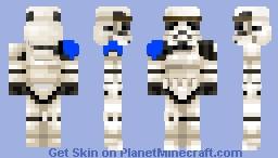 imperial stormtrooper (blue pauldron) Minecraft Skin