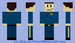 Officer Radio Minecraft Skin