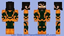 Aquaman - Justice League Minecraft Skin