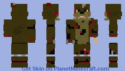 FFPS ScrapTrap Minecraft Skin
