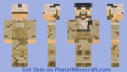 Navy Seal (2005) Minecraft Skin