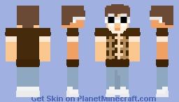 gnf in cute shirt Minecraft Skin