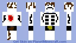 The Fortnite Man from pro mincecraft herobrine Minecraft Skin