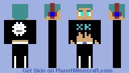 Male Teen Minecraft Skin
