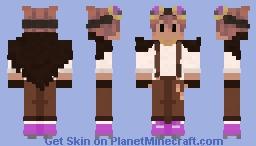 Violet Steampunk Minecraft Skin