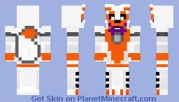FNAF Sister Location :  Lolbit Minecraft Skin