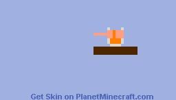 That's some noice orange juice Minecraft Skin