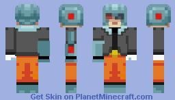 The Masked Man Minecraft Skin