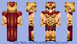 Spartan warrior Minecraft Skin