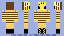 Bee girl Minecraft Skin