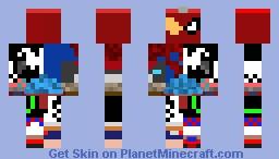 Spider-Man Collage Minecraft Skin