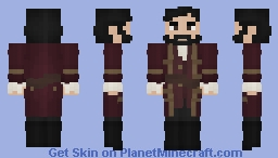 [LOTC] [Commission] red yes good yes Minecraft Skin