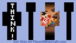 Think Mark Think! Minecraft Skin