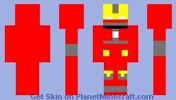 Iron Man Mark 19 Minecraft Skin