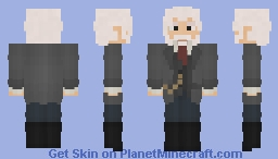 [LOTC] [Commission] Old Man Swag Minecraft Skin