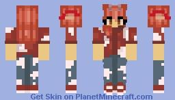 Mooshroom human hybrid skin Minecraft Skin