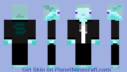 Axo Fusion Minecraft Skin