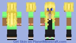 Casual Outfit w/ Lesbian Bracelet Minecraft Skin
