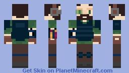 Miniature Non-human Mercenary Minecraft Skin