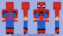 Spider-man W.E.B suit (Avenger Campus Disneyland) Minecraft Skin