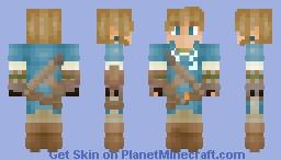 Link (SSBU) Minecraft Skin