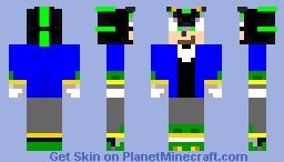 bemdyk9 (my shadow form) Minecraft Skin
