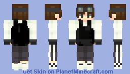 Agent - 17  |  Hitman's Beat Minecraft Skin