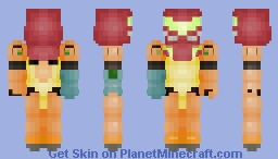 Samus Aran (SSBU) Minecraft Skin