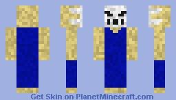 Rick Splatterhouse 3 1993 Minecraft Skin