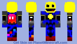 Pac-Mech Minecraft Skin