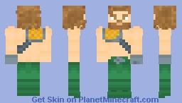 Aquaman (Injustice 2/DCAU) Minecraft Skin