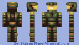 The green chief - SSPBL Minecraft Skin