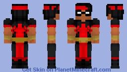 Thunderbird (Marvel Comics) Minecraft Skin