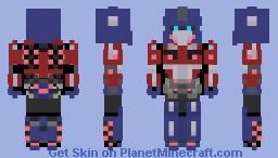 Transformers Fall Of Cybertron Optimus Pri6 Minecraft Skin