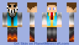 Two Face - Cursed Skin Minecraft Skin