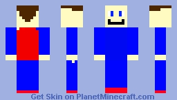 superman but he forgot to wear his symbol Minecraft Skin